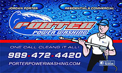 Porter Power Washing LLC logo